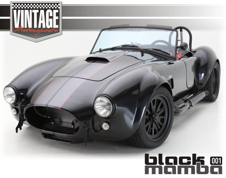 VINTAGE MOTORSPORTS - BLACK MAMBA Roadster Overview